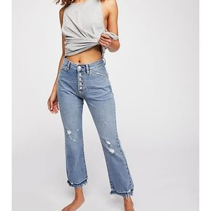 NWT Free People The Dylan High-Rise Bootcut Jeans